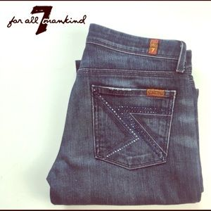 Seven 7 for All Mankind | Flynt Flare Jean | Sz 26